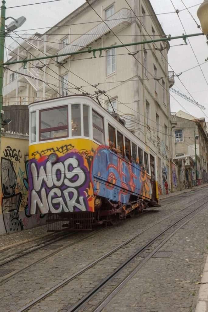 Ascensor da Glória - One week in Portugal