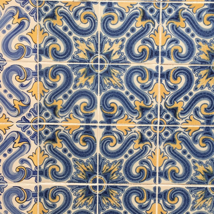 Beautiful azulejos - 3 day in Lisbon
