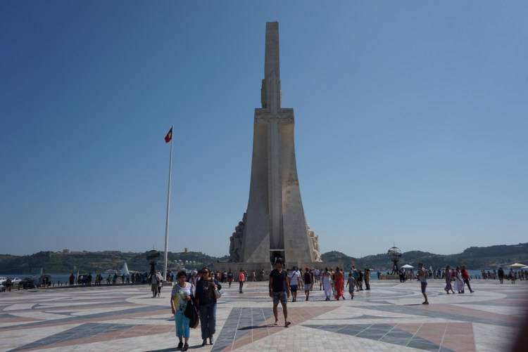 Monument of discoveries in Belem _ 3 days in Lisbon