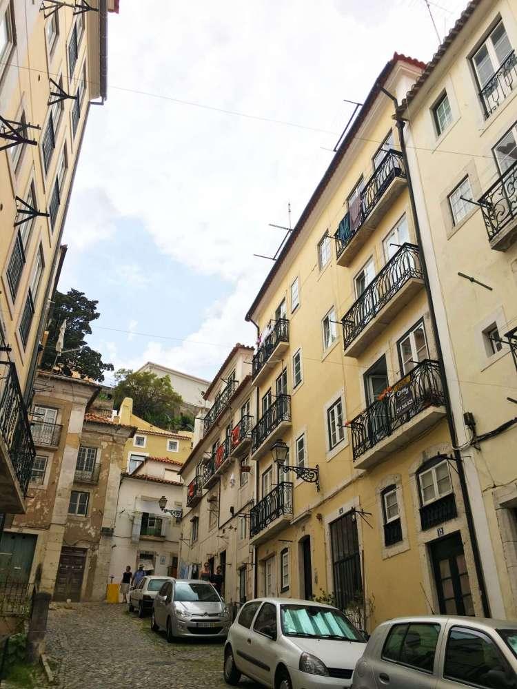 Street in Lisbon - One week in Portugal
