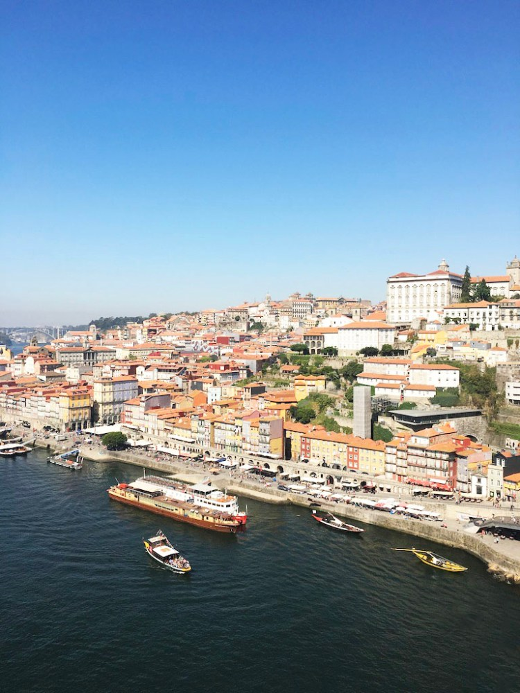 View from the Luis I Bridge - 2 days in Porto, Portugal