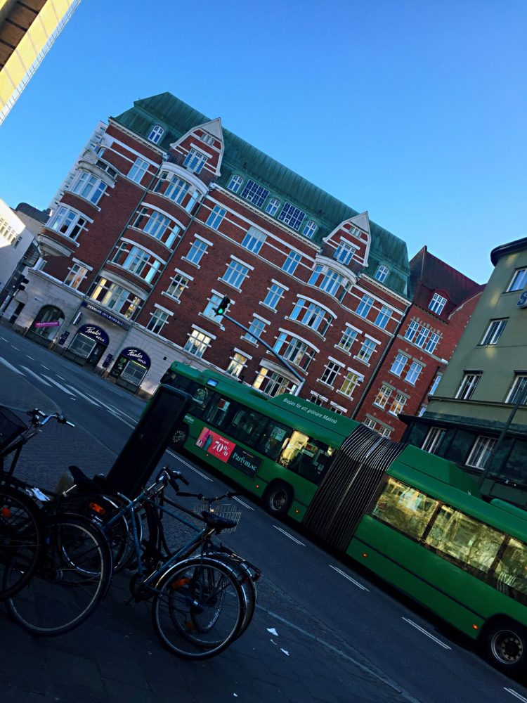 Malmo's green bus  Things to do in Malmö day trip