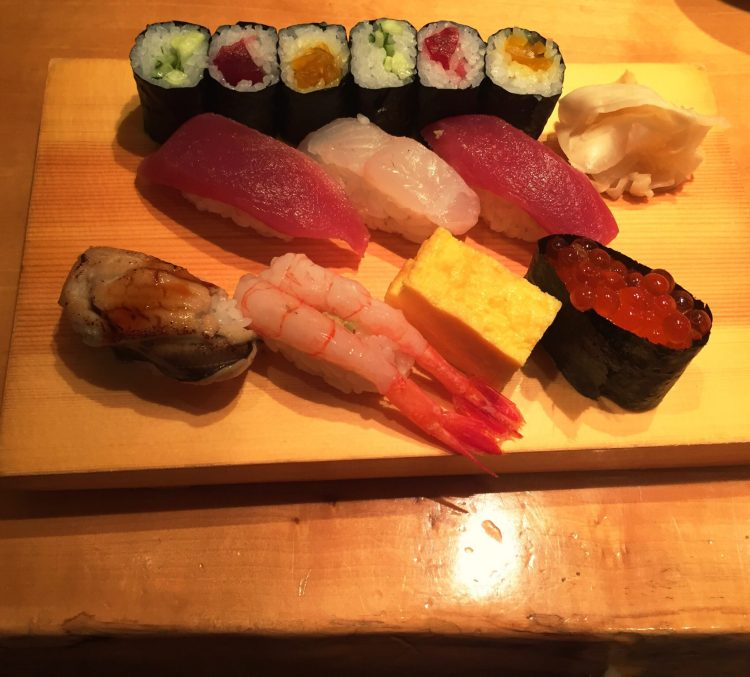 Sushi - planning a trip to Japan for the first time