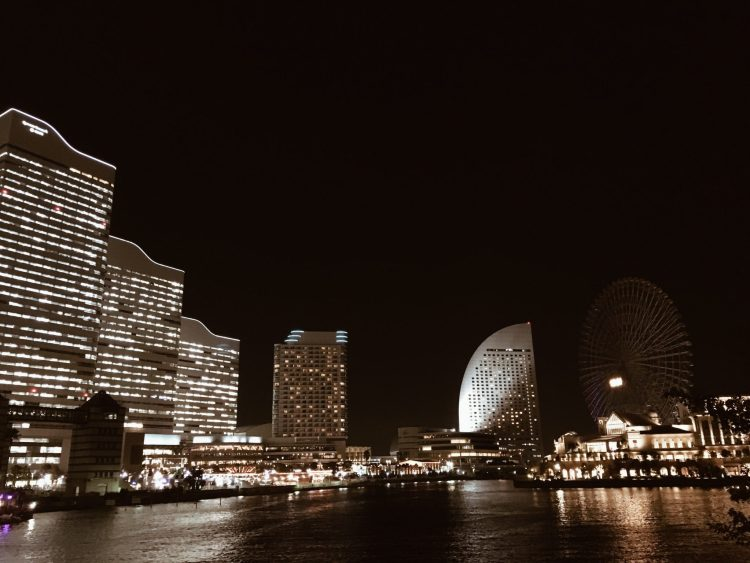 Minato Mirai at night - Things to do in Yokohama