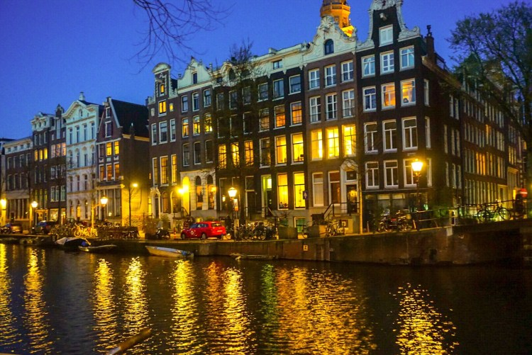 Amsterdam at dawn