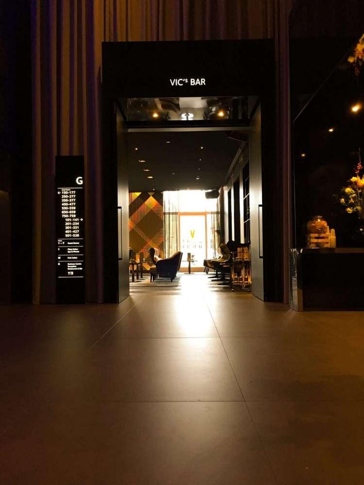 Vic Bar in Park Plaza Victoria Amsterdam -