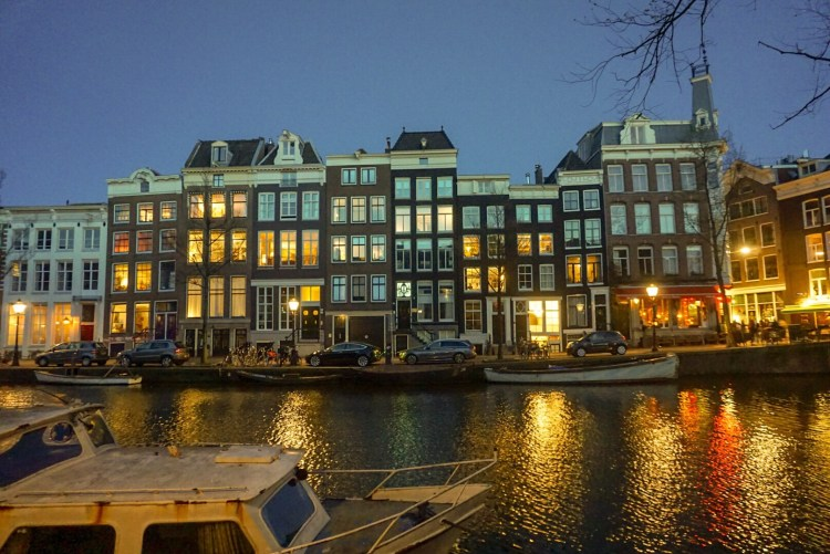 Amsterdam by night - Amsterdam photo diary