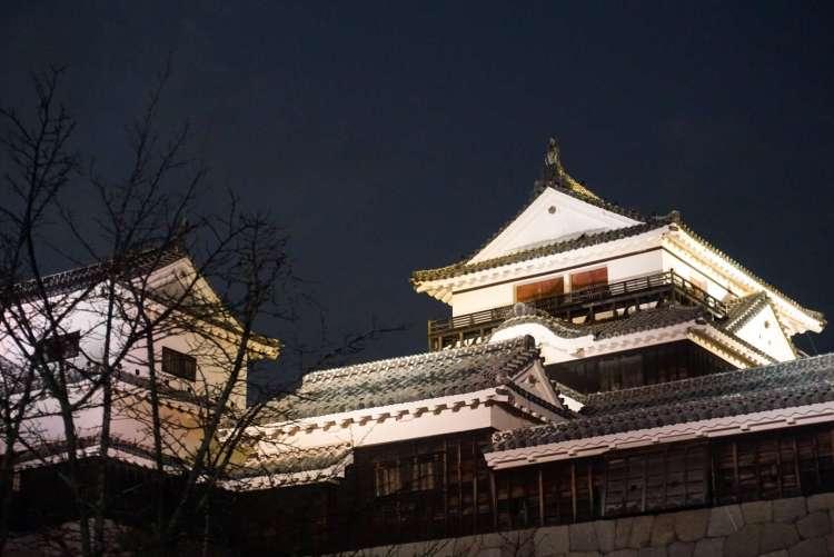 Matsuyama castle in Ehime