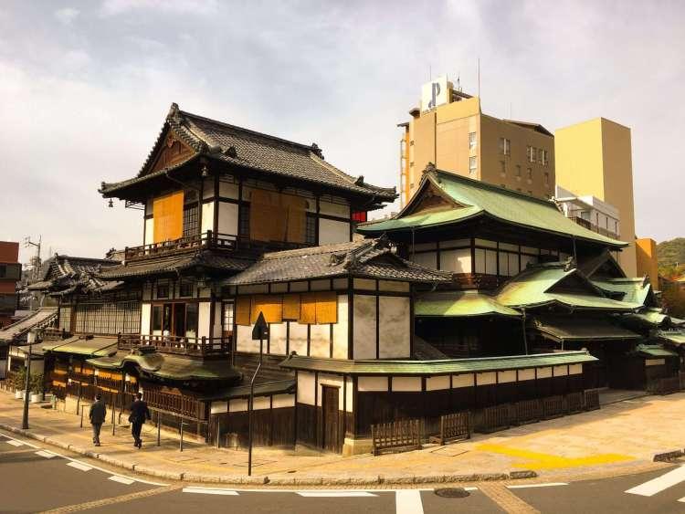 Dogo Onsen Honkan in Matsuyama, Shikoku