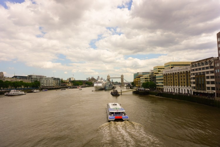Things to do in London Bridge - take a boat tour on the river Thames