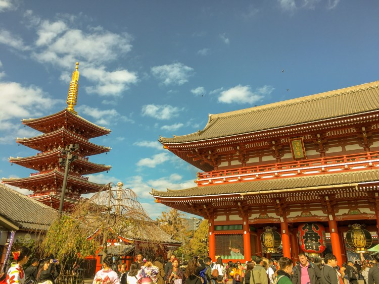 Things to do in Asakusa? Visit Senso-ji Tempe