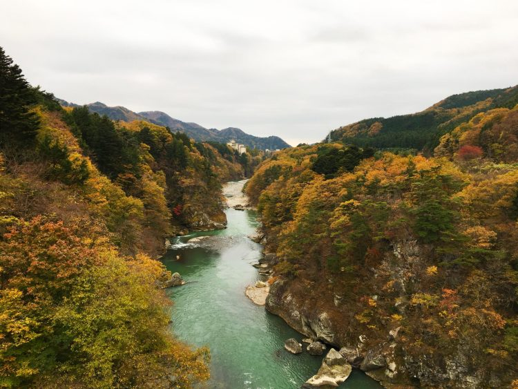 13 reasons to visit Japan in autumn: Kinugawa River