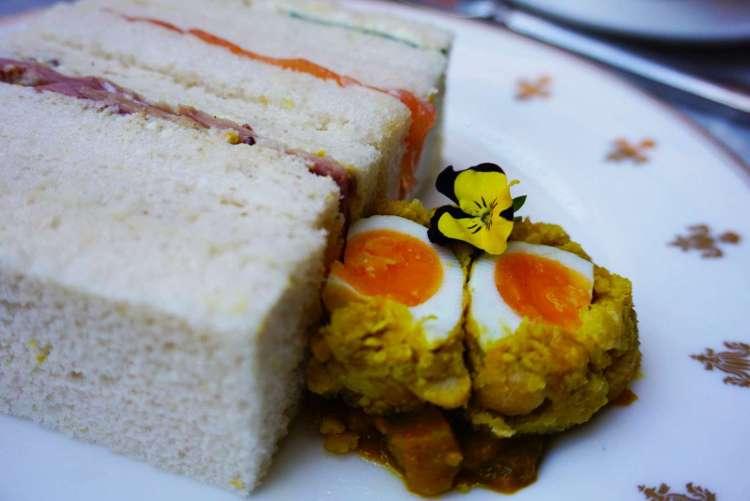 Gluten free sandwiches - Luxury afternoon tea