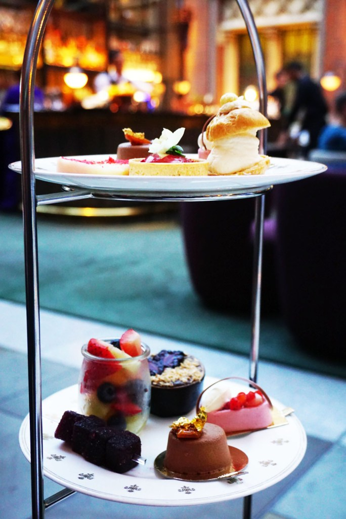 Luxury afternoon tea at the Hansom