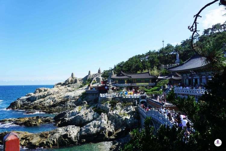 Haedong Yonggungsa Temple by the Sea - Busan itinerary