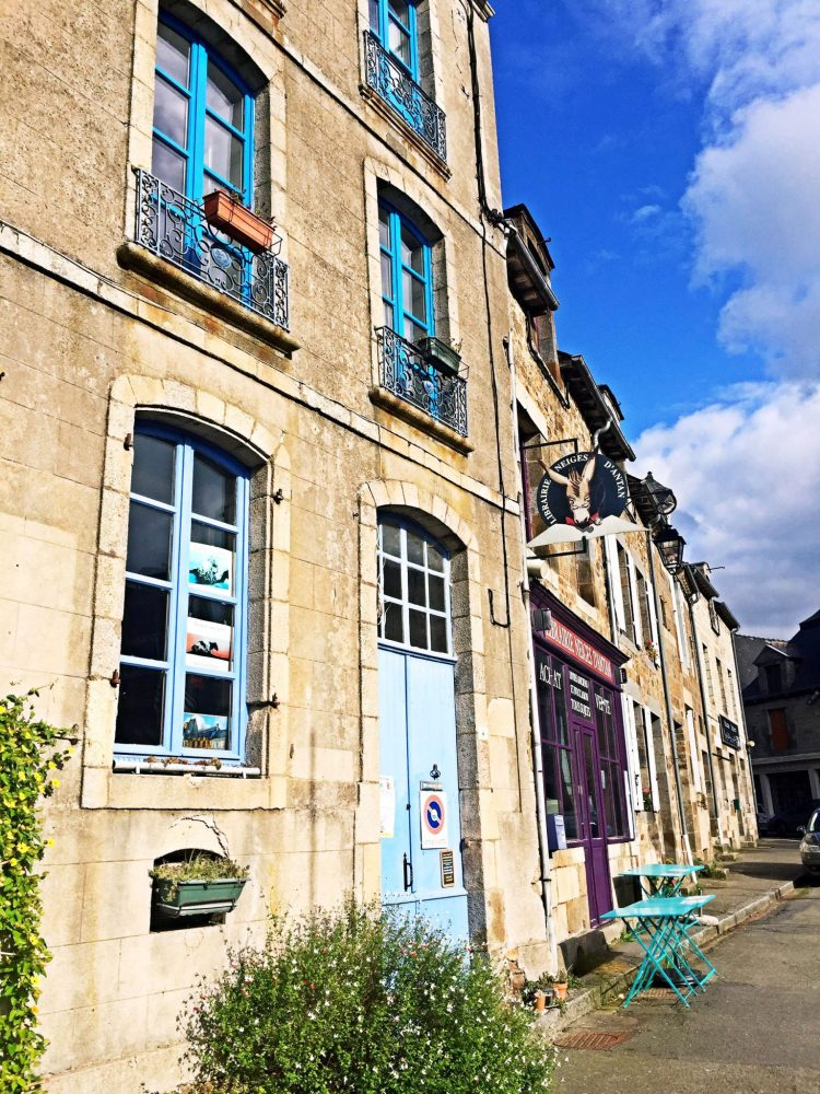 Town of Bécherel is one of the most charming towns in Brittany