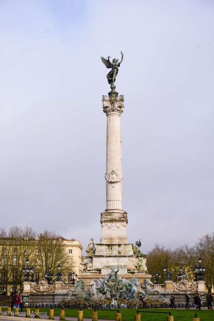 Monument des Girondins at Place des Quinconces, Bordeaux