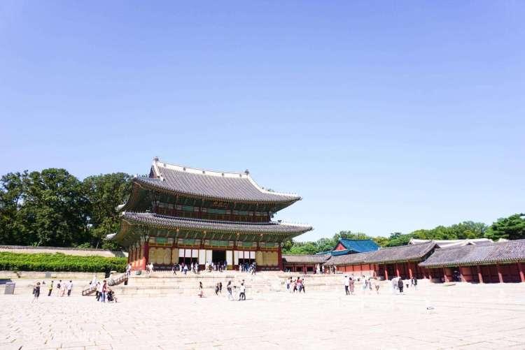 Injeongjeon Hall at Changdeokgung Palace
