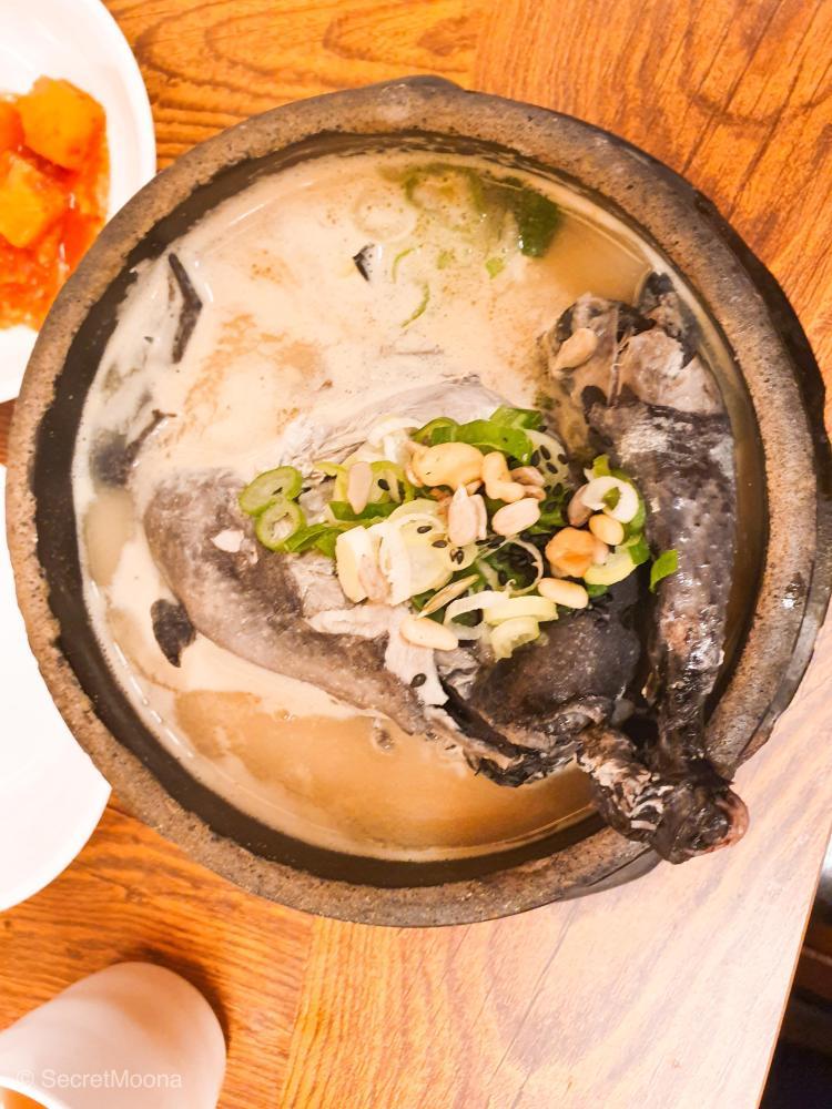 Samgyetang (ginseng chicken soup)