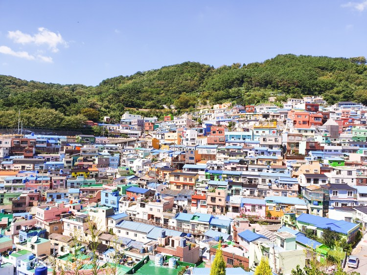 Exploring Gamcheon Culture Village, Busan - South Korea