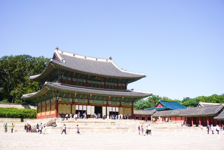 Gyeongbokgung Palace, throne hall
