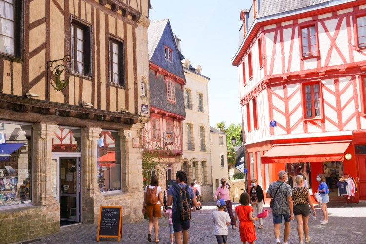 Vannes historic centre - Vannes, Brittany France