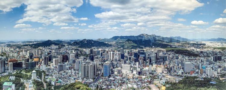 Gorgeous skyline - Seoul