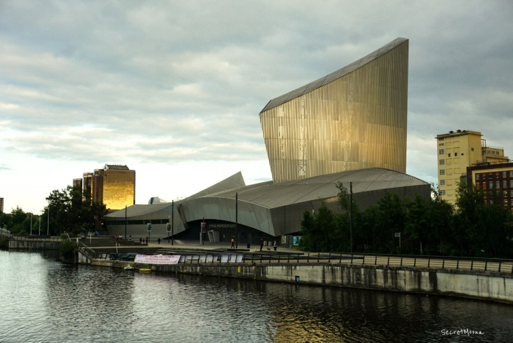 Salford Quays - great place to stay in Manchester