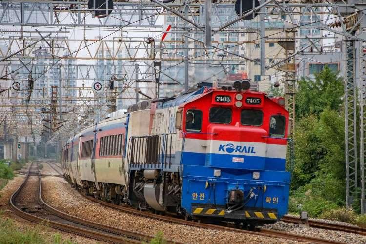 Mugunghwa-ho train from Seoul to Busan