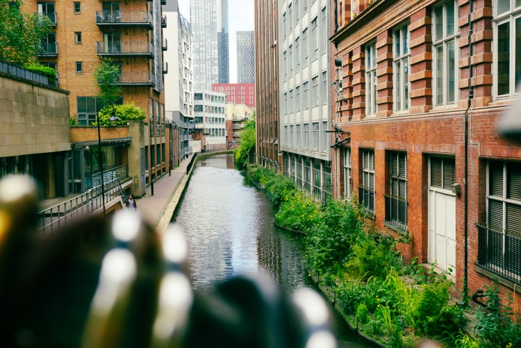Manchester's canals