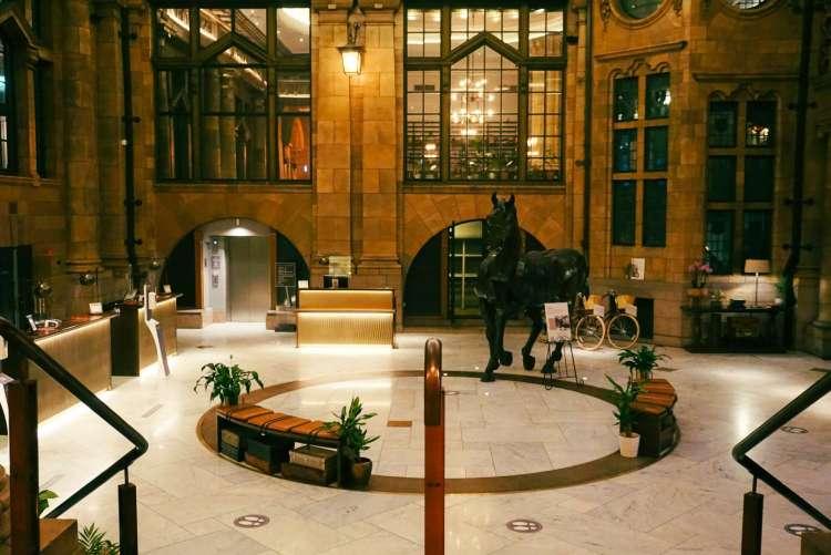 Kimpton Clocktower Hotel reception