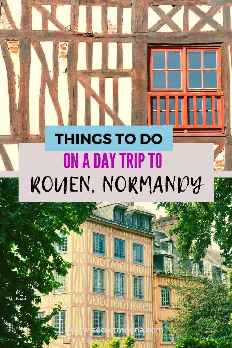 Day trip form Paris to Rouen Normandy