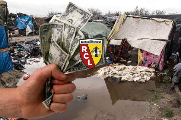Un migrant de la Jungle de Calais gagne au Lotto et rachète le RC Lens !