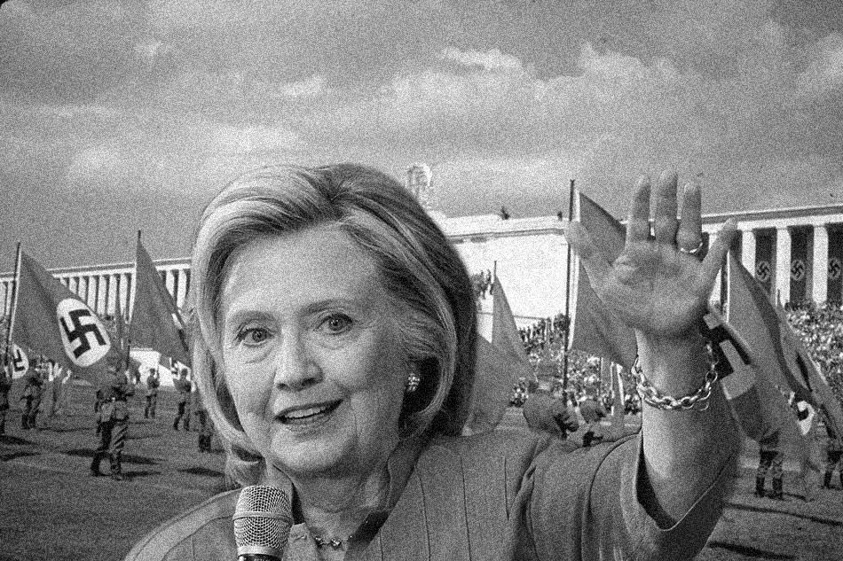 hillary-clinton-nazi Donald Trump est un ancien officier nazi (et Hillary aussi)