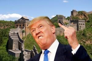 Trump rachète la Grande Muraille de Chine pour l'importer à la frontière mexicaine
