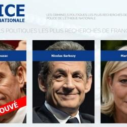 Les criminels politiques recherchés : Nouveau site web de la Police de l'Éthique Nationale