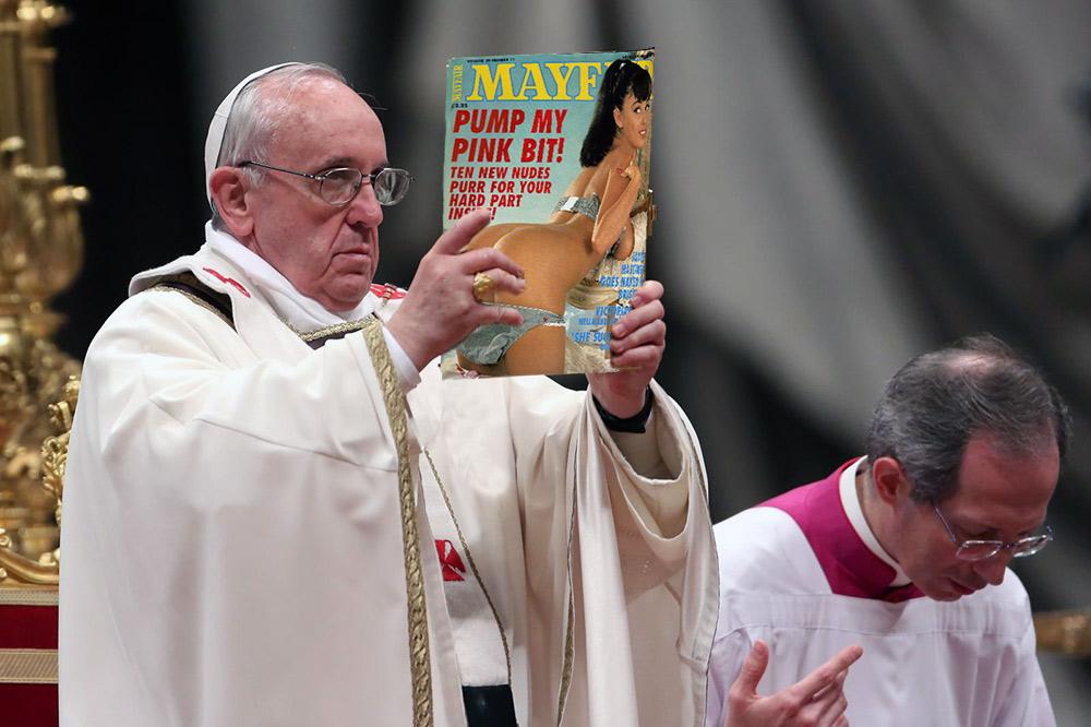 Vox Populi - Page 8 Pope-porn-pape-francois-porno-magazine