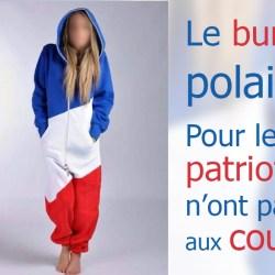 Le burkini d'hiver, en vente sur la boutique du Front National : gros succès chez les patriotes