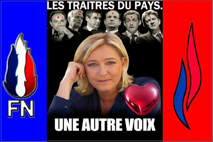 montage-Marine-Le-Pen-02 TOP 50 des plus beaux montages photos de Marine Le Pen : Il y a du talent au FN !