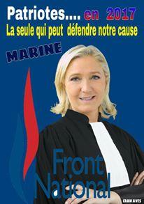 montage-Marine-Le-Pen-30 TOP 50 des plus beaux montages photos de Marine Le Pen : Il y a du talent au FN !