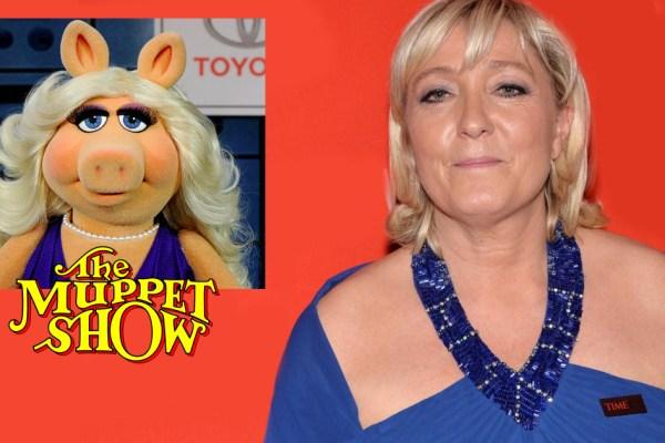 Cinéma : Marine Le Pen incarnera Miss Piggy dans le prochain Muppet Show Français