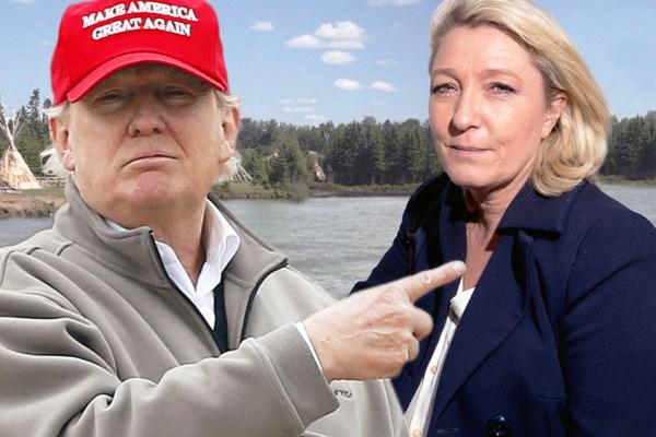 Marine Le Pen et sa relation amoureuse avec Donald Trump : un secret de polichinelle (dans le tiroir ?)