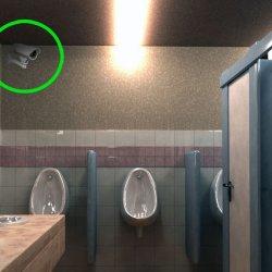 Antiterrorisme : Les caméras de surveillance bientôt autorisées dans les toilettes publiques