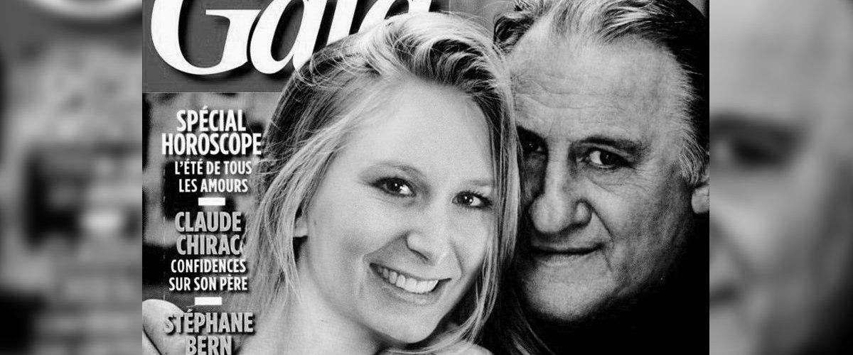 """Marion M. Le Pen : """" Gérard Depardieu est le meilleur amant que j'ai connu"""" (GALA)"""