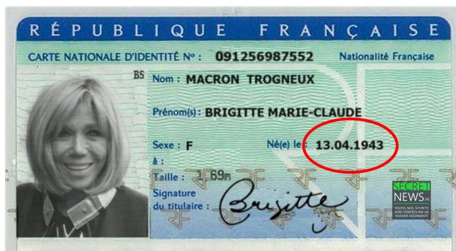 Imagini pentru brigitte trogneux et la carte d'identité photos