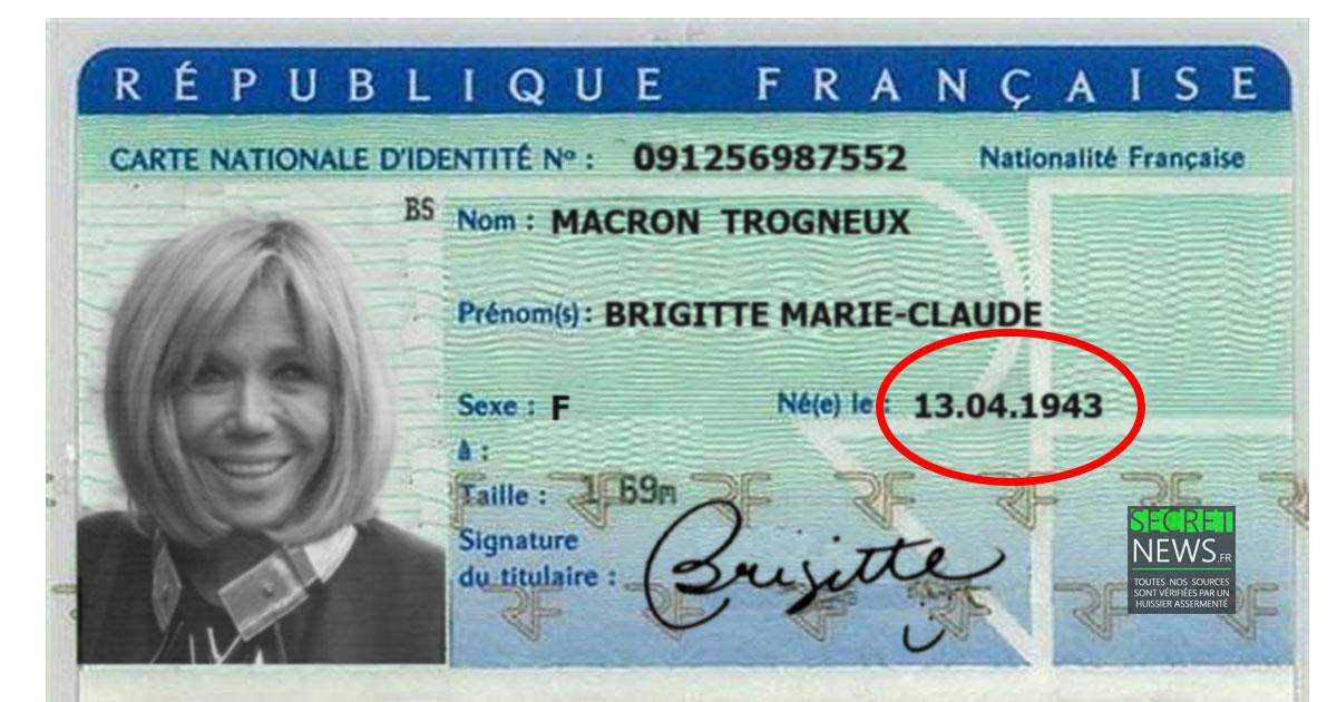 carte-identite-brigitte-macron-3 Alcool, chirurgie, bisexualité... Brigitte Macron raconte l'enfer qu'elle a vécu