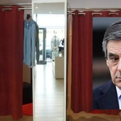 François Fillon arrêté pour avoir uriné dans une cabine d'essayage de la boutique Arnys.