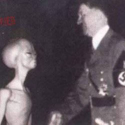 Adolf Hitler a-t-il profité de l'aide des extraterrestres pour fuir les alliés en 1945 ?