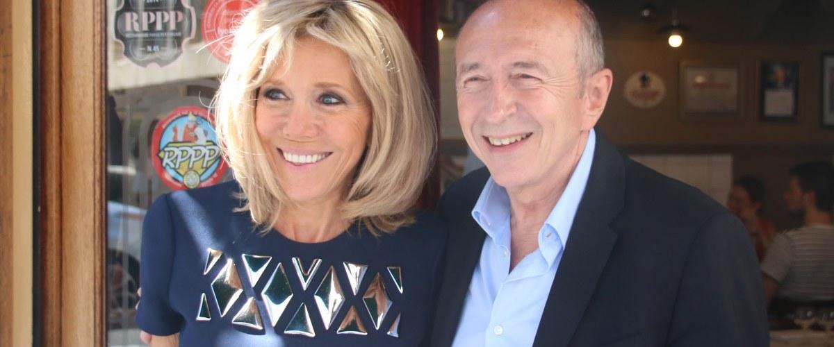 """""""Je me tape aussi des mecs de mon âge"""" - Brigitte Macron sous le charme de Gérard Collomb"""