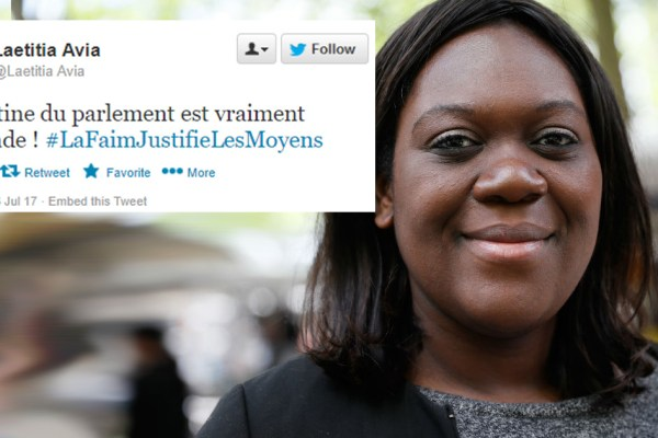 """""""La cantine du Parlement est immonde !"""" – Laetitia Avia s'explique après avoir mordu un chauffeur de taxi"""